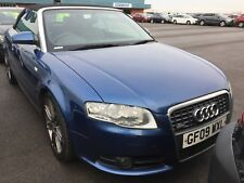 09 AUDI A4 CABRIOLET 2.0 TDI FINAL ED. - 1F/OWNER, LEATHER, NAV, VERY CLEAN CAR!