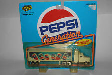 "ROAD CHAMPS ""PEPSI COLA"" METAL DIECAST TRUCK"