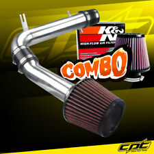 98-02 Honda Accord 3.0L V6 Polish Cold Air Intake + K&N Air Filter