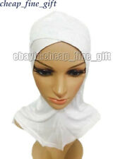 Muslim Underscarf Cotton All Cover Cross Ninja Lace Caps Inner Islamic Hat Hijab
