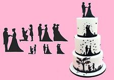 Tagliapasta Silhouette Matrimonio 7 fantasie per bordo e decorazioni Patchwork C