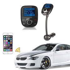 Car Kit MP3 Player Wireless Bluetooth LCD FM Transmitter Modulator USB SD Remote