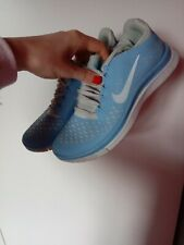 Nike Free Run 3.0 Used Once UK 5.5 Blue Womens