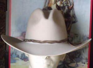 STETSON 6X FUR FELT GUS COWBOY  WESTERN HAT