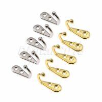 Alloy Mini Wall Door Hook Hat Coat Clothes Hangers Home Organization Hardware