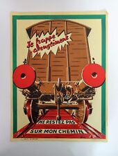 S.NC.F Affiche originale de train poster