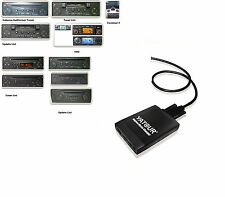 USB SD Adapter AUX IN MP3 CD Wechsler Renault Scenic 2 II  2003-2008