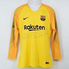 c2da3956fce 2018-19 Barcelona Player Issue Gk L/S Shirt Yellow Nike *BNWT*
