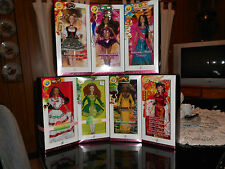 FESTIVALS OF THE WORLD SET OF 7 BARBIE DOLLS PINK LABEL AGES OVER 6YRS AND UP