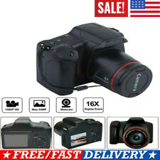 Ultra HD Digital Camera Vlogging Video Camera SLR Camera 2.4 Inch 16x Zoom+1080P