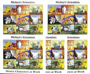 [OPG778] St Vincent and The Grenadines Disney lot of 25x very fine MNH sheets