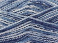 King Cole BIG VALUE TONAL CHUNKY Knitting Wool / Yarn 100g - 2530 Ocean