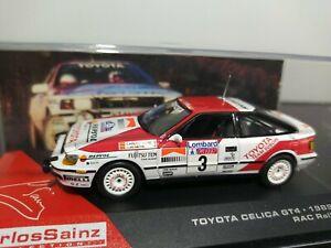 1/43 IXO Altaya Carlos Sainz Citroën Toyota Celica GT4 Lombard RAC Rally 1989