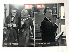 The Avengers Complete Collection Dealer Promo Card MB1 & MB2