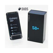 "SMARTPHONE SAMSUNG GALAXY S8 + PLUS DUOS 64GB BLACK 6,2"" DUAL SIM G955FD."