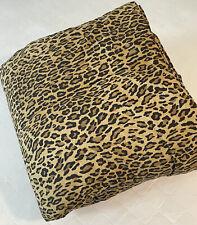 Rare Ralph Lauren Guinevere Aragon Full Queen Leopard Comforter Bedspread