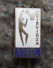 Banik Cigel Prievidza Basketball Team Slovakia Players Supporters Pin Badge