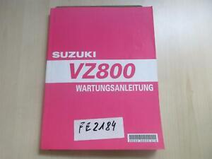 Suzuki VZ 800 Handbuch Wartungsanleitung Fahrerhandbuch Buch 99500-38050-01G