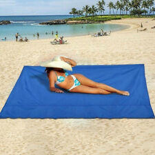 Outdoor Pocket Picnic Blanket Waterproof Beach Mat Travel Camping Sandless Pad