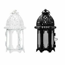 Lantern Candle Holder Hanging Light Wedding Decor Metal Candlestick Lamp Party