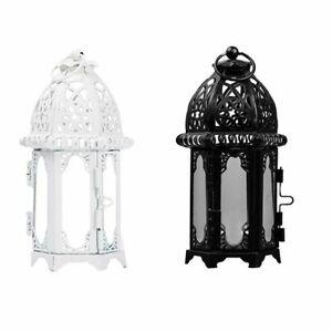 Lantern Candle Holder Hanging Light Wedding Decor Metal Candlestick Lamp Party