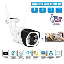 CCTV IR Camera Outdoor WiFi 1080P HD Home Security Wireless IP Motion Sensor