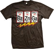 Ba Zn Ga Elements Periodic Table Symbols Sheldon Science Show Bolt Men's T-Shirt