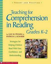 Teaching for Comprehension in Reading, Grades K-2-ExLibrary