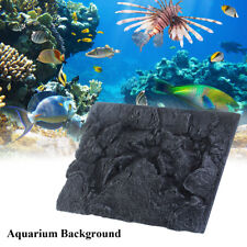 3D Foam Rock Reptile Stone Aquarium Background Backdrop Fish Tank Board   !!