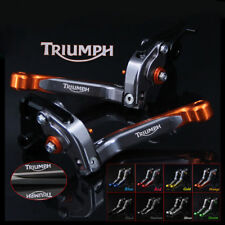 TRIUMPH SPEED TRIPLE 1050 11-16 Adjustable Folding Extending Brake Clutch Levers