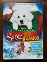 Santa Pattes DVD Walt Disney Chiens Famille Fonctionnalité Film Noël