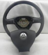 VW Golf Plus 5M Lenkrad mit Airbag 3-Speichen Lederlenkrad 1K0418091AG