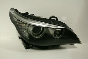 08 09 10 BMW E60 525 528 535 LCI HALOGEN HEADLIGHT RIGHT PASSENGER SIDE USED OEM
