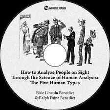 How to Analyze People on Sight - MP3 CD Audiobook in paper sleeve