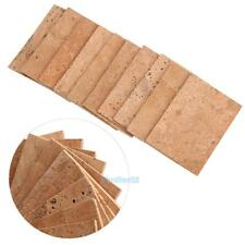 Set of 10PCS SAX SAXOPHONE NECK CORK Sheet 2mm for Soprano/Tenor/Alto