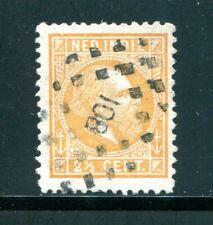 Nederlands Indie, puntstempel 108 MEDAN op nvph 7 F, type 1 ;