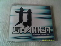 THE SHAMEN - SHOW OF STRENGTH EP - 4 TRACK UK CD SINGLE