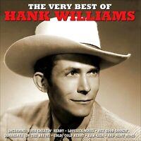 HANK WILLIAMS  *  50 Greatest Hits  *  2-CD SET  *  All Original Songs  *  NEW