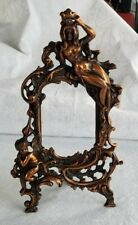 Art Nouveau Beatrice No. 1007 A Gold Frame  Mirror Vanity Dressing  Picture