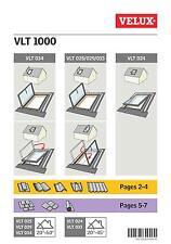 SALE! VELUX VLT Conservation Access Escape Roof Window 45x73cm Escape + flashing