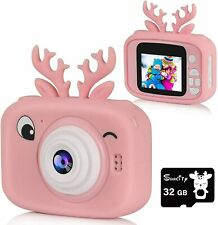 New ListingKids Camera Toys for 5-9 Year Old Girls Shockproof Digital Cameras Birthday Gift