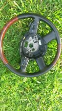 2006 AUDI A6 WOOD GRAIN W/BLACK LEATHER STEERING WHEEL W/ PADDLE4F0419091BHUQH