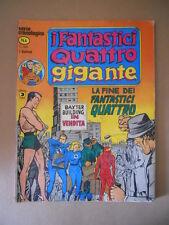 I FANTASTICI QUATTRO GIGANTE serie Cronologica n°4 1978 Corno [G758] BUONO