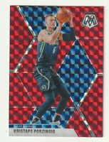 2019-20 Panini Mosaic Prizm RED HOBBY ONLY Kristaps Porzingis Dallas Mavericks
