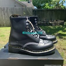 NIB DR. MARTENS 1460 CBGB SMOOTH LEATHER LACE UP BOOTS 25927001