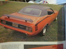 HEMI rare MUSCLE CAR BOOK 70S ROADRUNNER CHARGER BARRACUDA MUSCLE BABY
