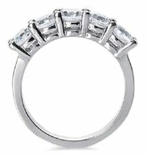 1 carat, 5 Round DIAMOND Wedding Ring Anniversary band G color SI1 clarity