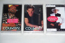 Sealed Country Cassettes: Contemporary Country Late 70's, Mid 80's, Garth Brooks