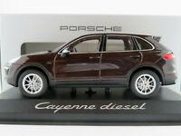 Minichamps/Porsche WAP0200030E Porsche Cayenne D in mahagonimet.1:43 NEU/OVP
