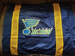 NEW ST. LOUIS BLUES Sidelines NHL Jersey Standard Pillow Sham